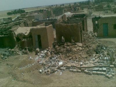 التغيير الديمغرافي متواصل وبقوة .. قوات الحماية الكردية تزيل ٢٠ منزلاً في الحسكة