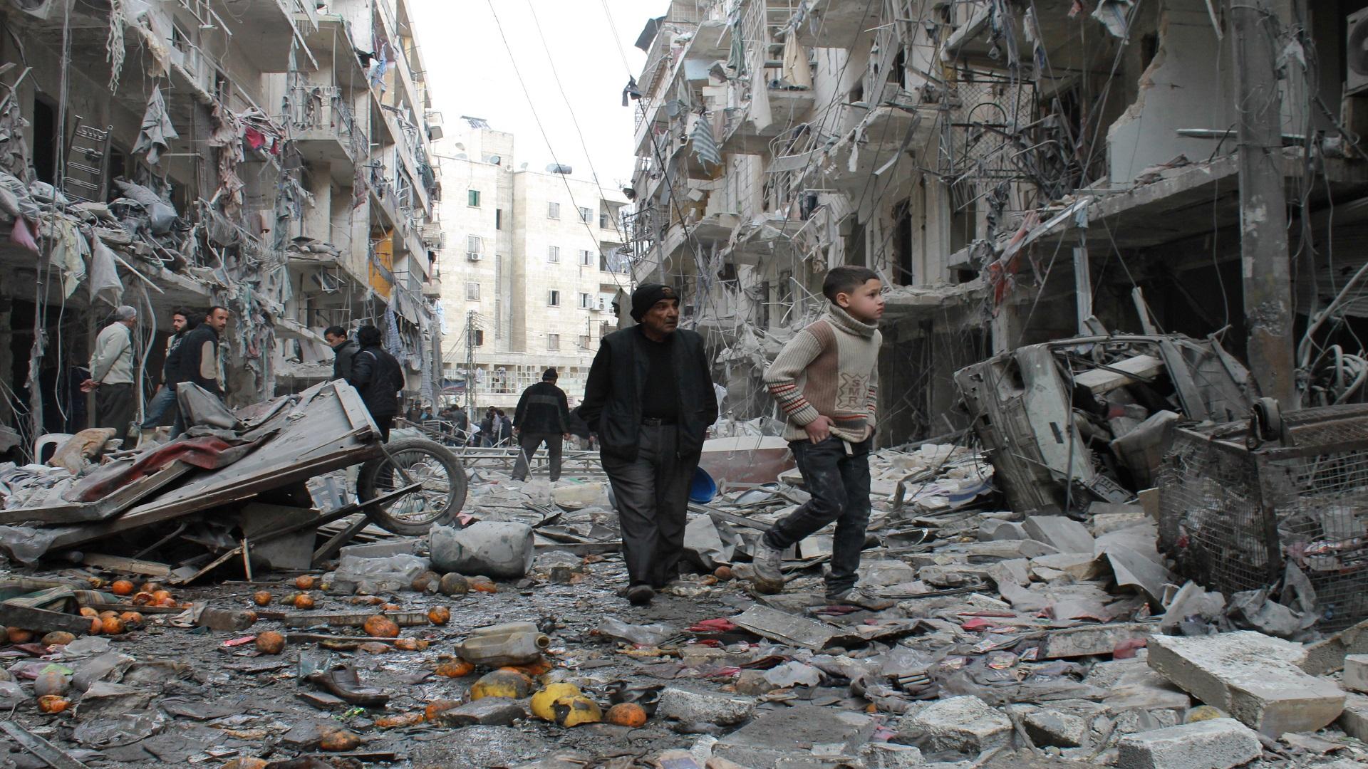 66 قتيلاً حصيلة ضحايا قصف الطيران الروسي الأسدي يوم أمس الاثنين