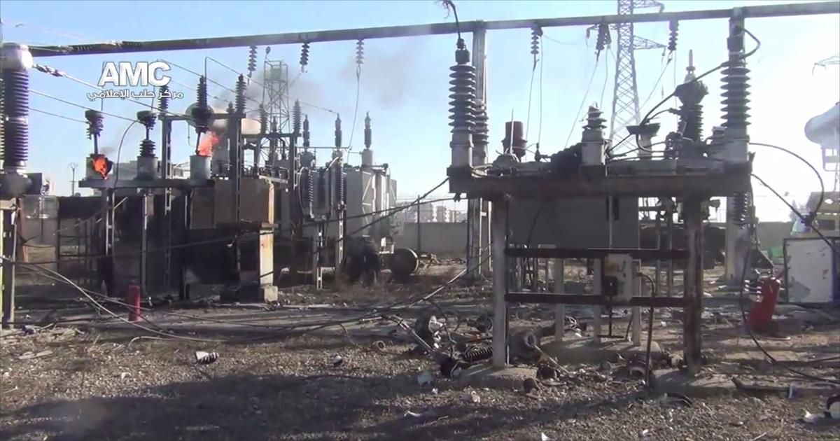 نظام الأسد يكشف عن إجمالي الخسائر في قطاع الكهرباء