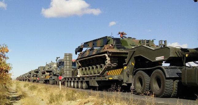 الجيش التركي يرفع مستوى التأهب على الحدود مع سوريا والعراق