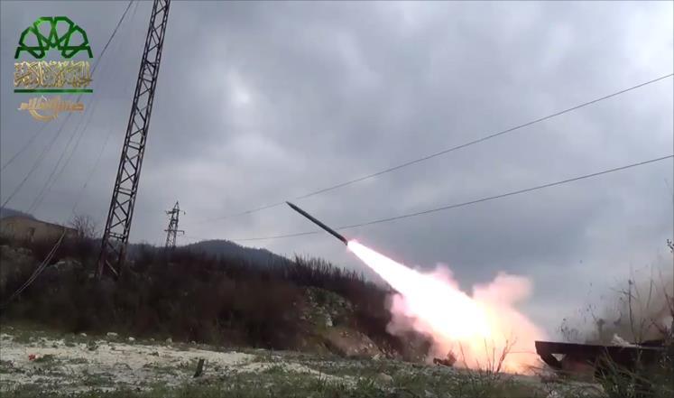 صواريخ الثوار تثير غضباً في اللاذقية