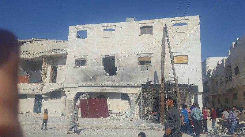 ضحايا مدنيون في قصف للميلشيات الكردية على ريف حلب الشمالي