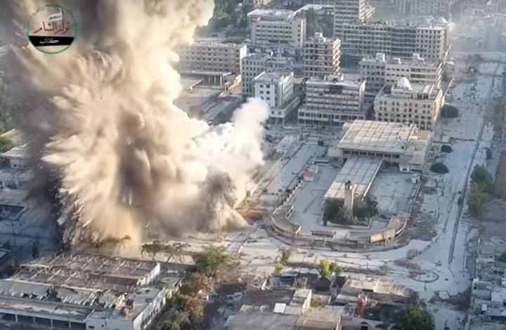 نشرة أخبار سوريا- 35 قتيلاً من الحرس الجمهوري جراء تفجير مبنى المرور في حلب، وبسبب القصف الشديد.. إدلب من جديد بلا صلاة