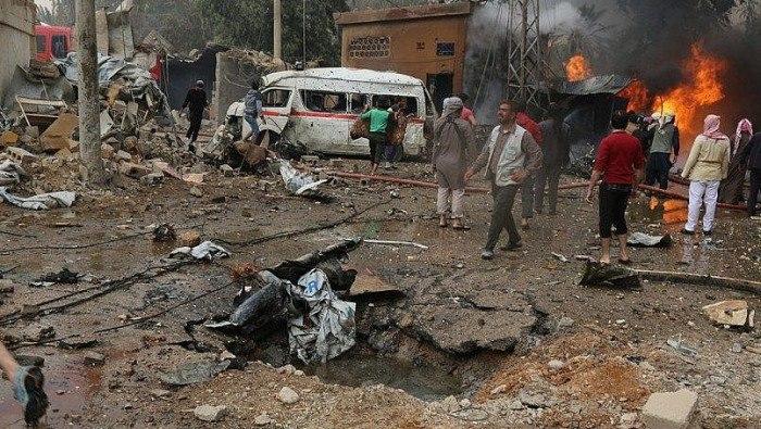 نشرة أخبار سوريا- قصف وخرق للهدنة من قبل النظام في غوطة دمشق، ومجازر مروعة توقع عشرات الضحايا في الرقة ودير الزور  -(27-7-2017)