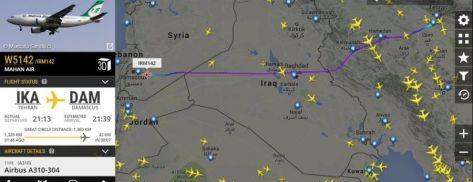هكذا يصل السلاح والمقاتلون من إيران إلى سوريا