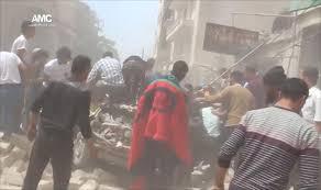 الشبكة السورية توثق ارتكاب قوات الأسد والطيران الروسي 19 مجزرة الشهر الماضي