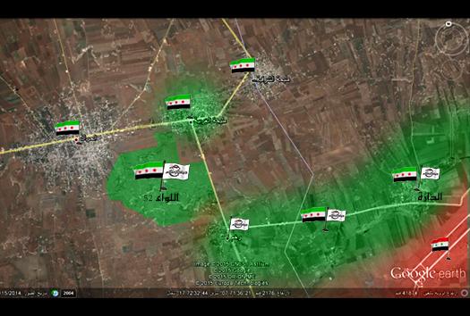 نشرة أخبار سوريا- تحرير اللواء 52 في المنطقة الشرقية بدرعا بشكل كامل، وتطهير جبل الأفاعي في القلمون الشرقي من عناصر تنظيم الدولة- (9_6_2015)