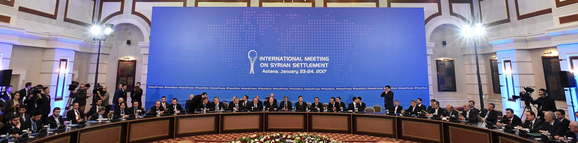 اختتام اجتماعات أستانا: وعود روسية ومطالب للمعارضة بوضع آليات لمراقبة وقف إطلاق النار