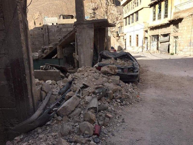 في ظل الهدنة.. قوات النظام تسيطر على مجمع كفتارو في بسيمة بوادي بردى
