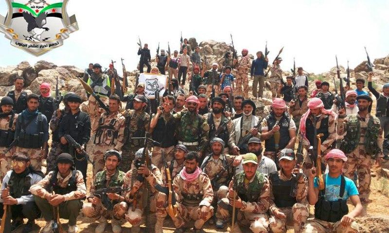 جيش العشائر يطلق معركة جديدة لاستعادة مواقع انسحب منها على الحدود الأردنية