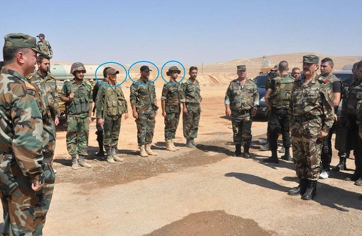 جنود الأسد في حلب يستقبلون وزير الدفاع بـ