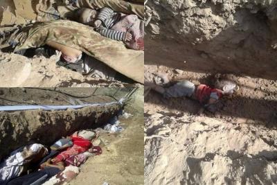 92 قتيلاً -تقبلهم الله في الشهداء- حصيلة ضحايا قصف الطيران الروسي الأسدي يوم أمس الجمعة