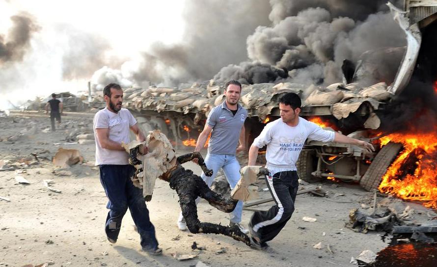 مجزرة روسية بحق عائلة كاملة في ريف حماة