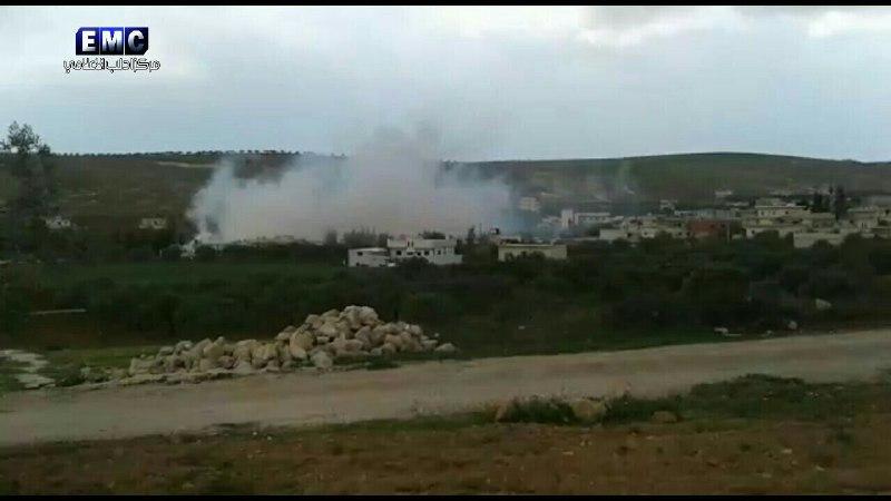 14 شهيداً.. حصيلة مجزرة طيران النظام يوم أمس في أورم الجوز بريف إدلب