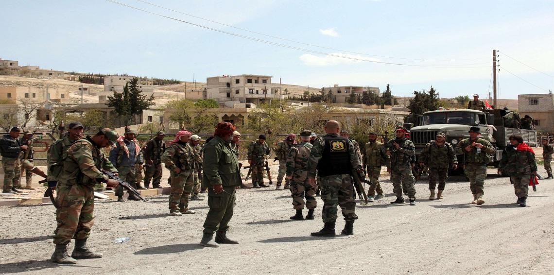 قوات النظام تصل إلى مطار دير الزور العسكري