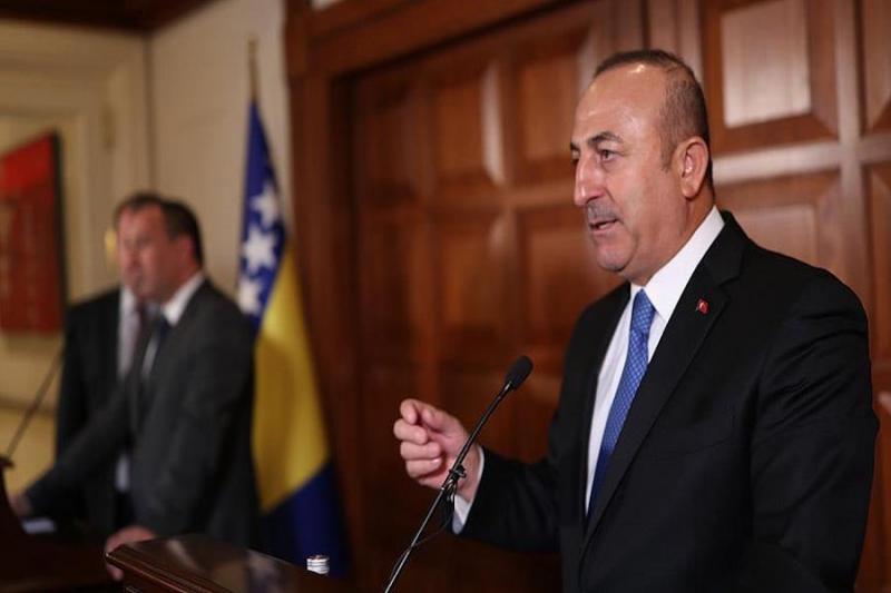 وزير الخارجية التركي: تلقينا وعوداً بأن يشارك