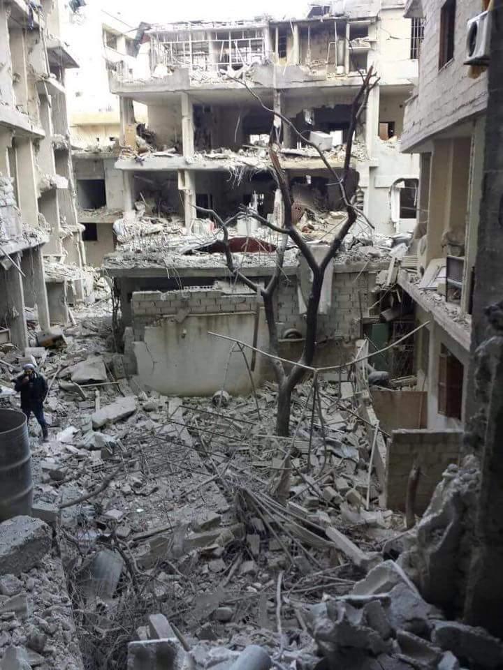 نداء استغاثة لإنقاذ 100 ألف محاصر في وادي بردى، والفصائل الثورية تتجهّز