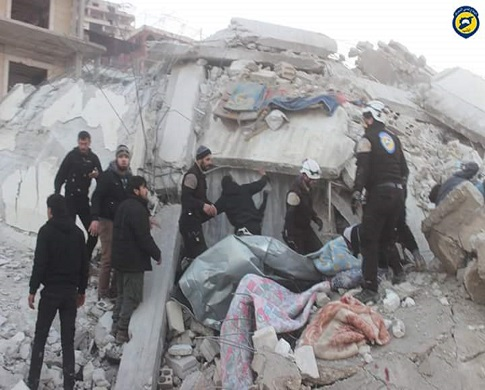24 قتيلاً -تقبلهم الله في الشهداء- حصيلة ضحايا يوم أمس السبت في سوريا