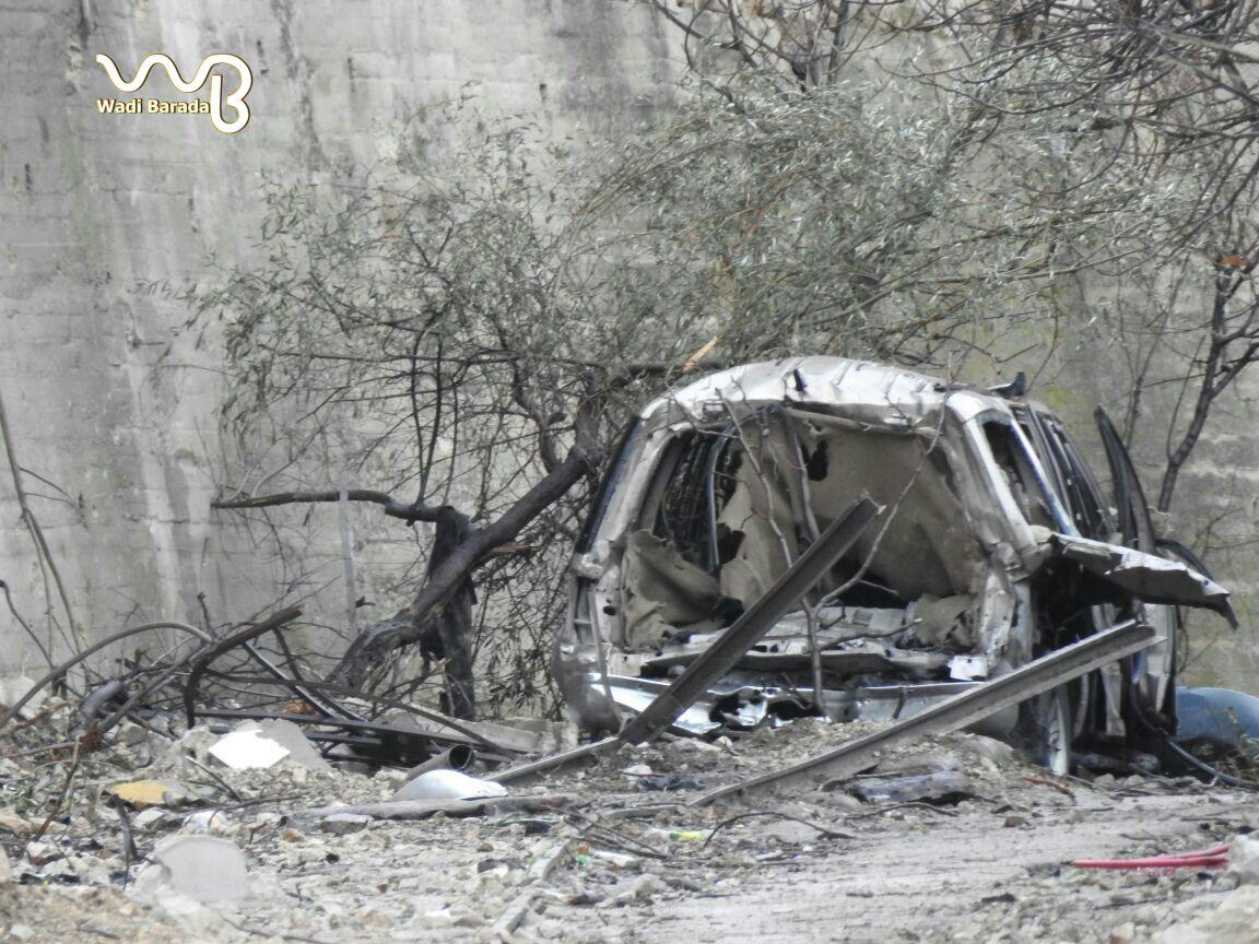 حزب الله ينقض الهدنة من جديد: قصف واشتباكات عنيفة على محور بسيّمة بوادي بردى