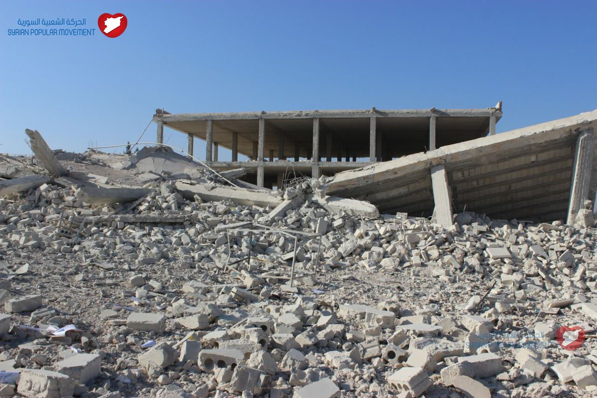 15 شهيداً في مجزرة لقوات النظام في قرية عويجل بريف حلب الغربي