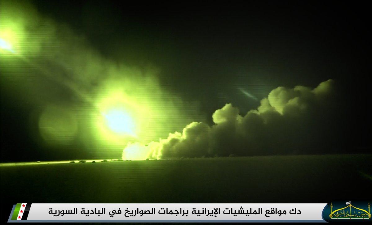 جيش أسود الشرقية يتقدم في البادية السورية على حساب قوات النظام