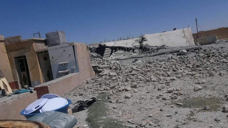 15 شهيداً وعشرات الجرحى في مجزرة جديدة للتحالف الدولي في الرقة