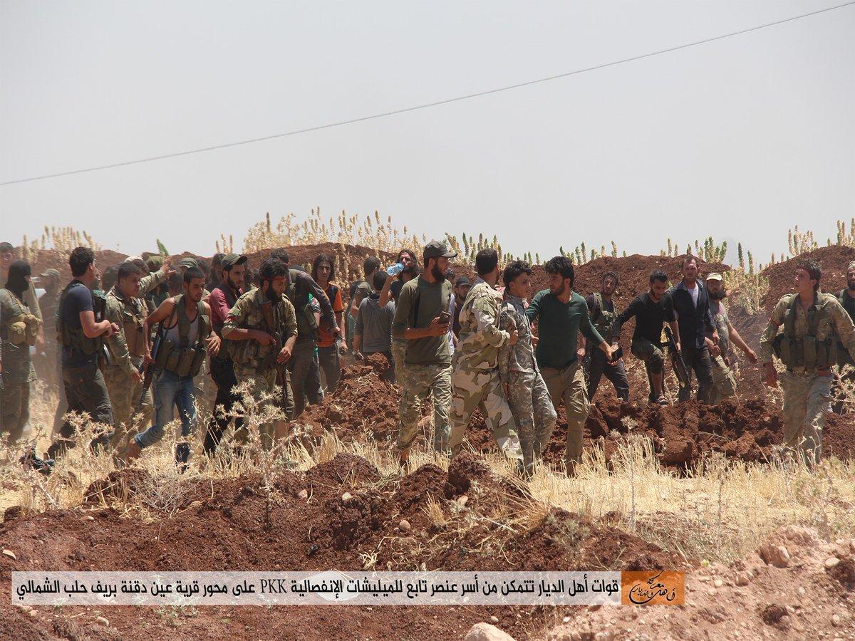 اشتباكات عنيفة بين الثوار والميلشيات الكردية شمال حلب