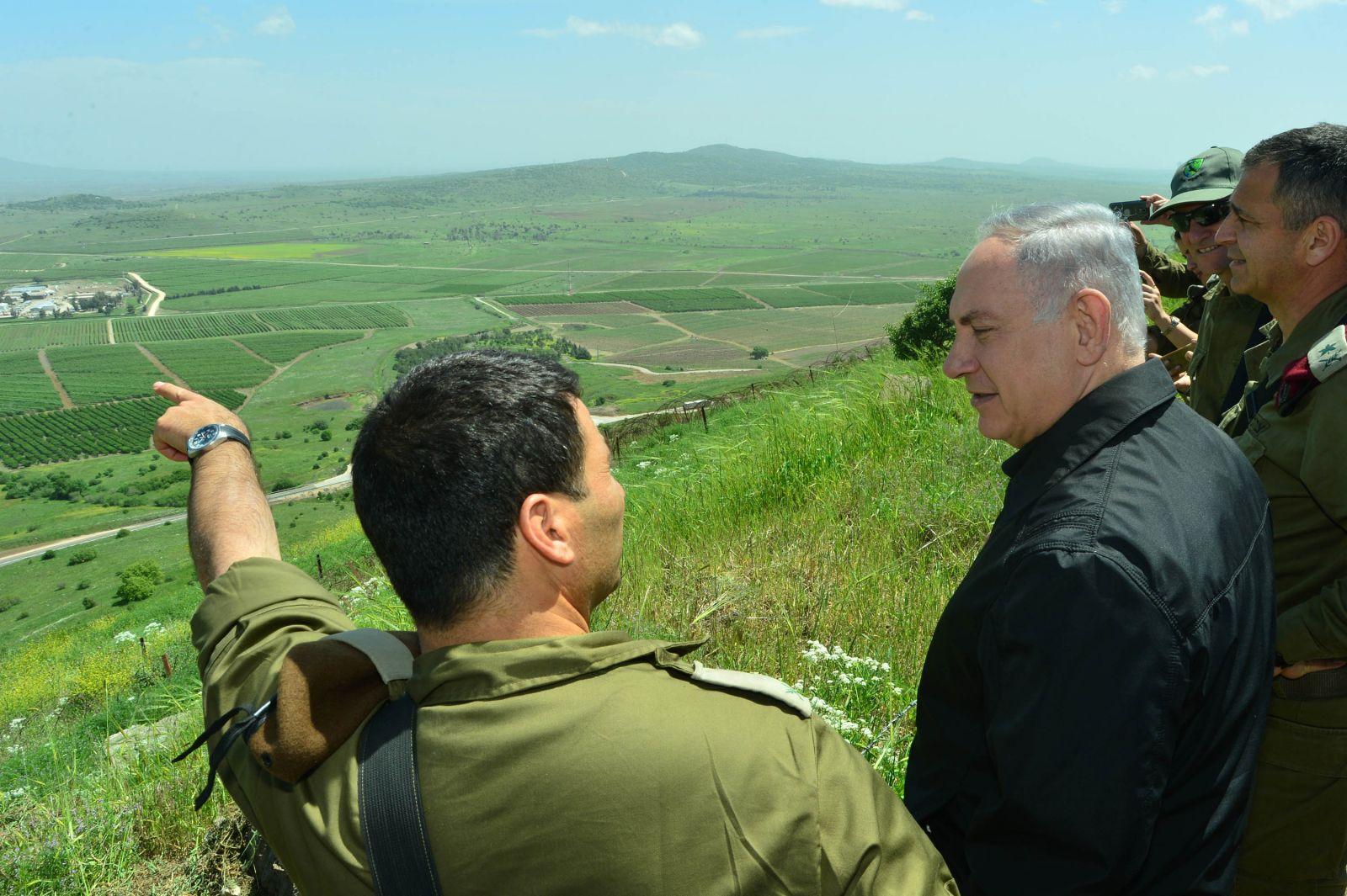 إسرائيل تعتزم البقاء في مرتفعات الجولان إلى الأبد