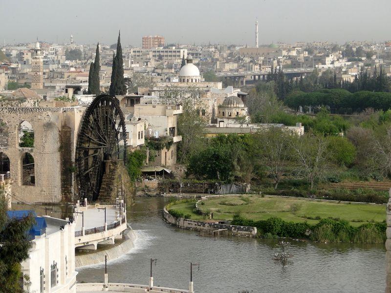 حماة: درة العاصي ومدينة أبي الفداء