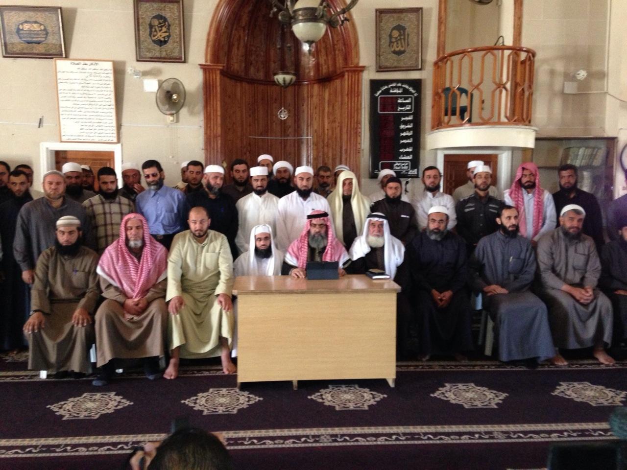 دعاة وعلماء حوران يعلنون تأسيس (الهيئة الإسلامية الموحدة في درعا والقنيطرة)