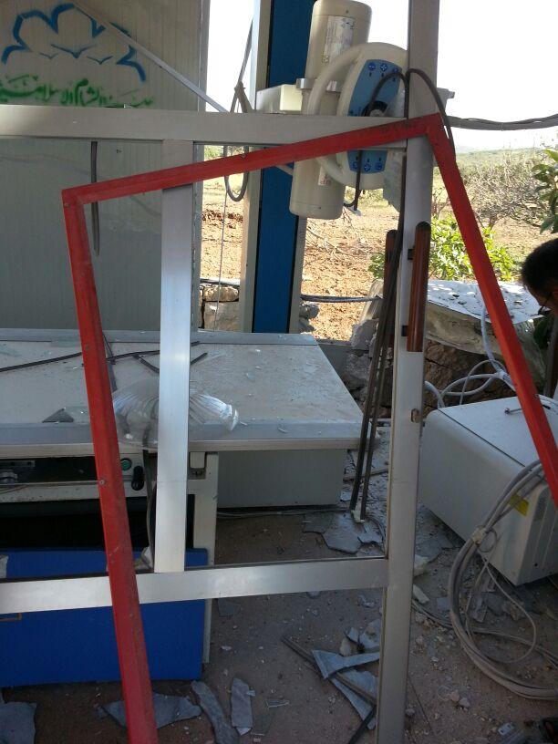 استهداف مشفى حماة المركزي