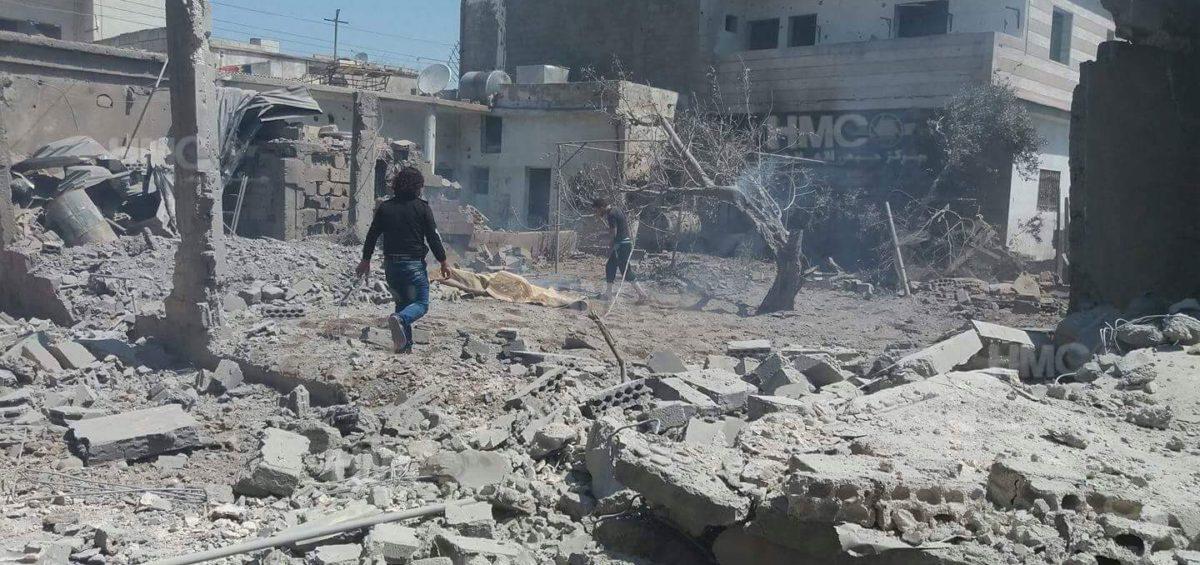 نظام الأسد يواصل خرق الهدنة شمال حمص