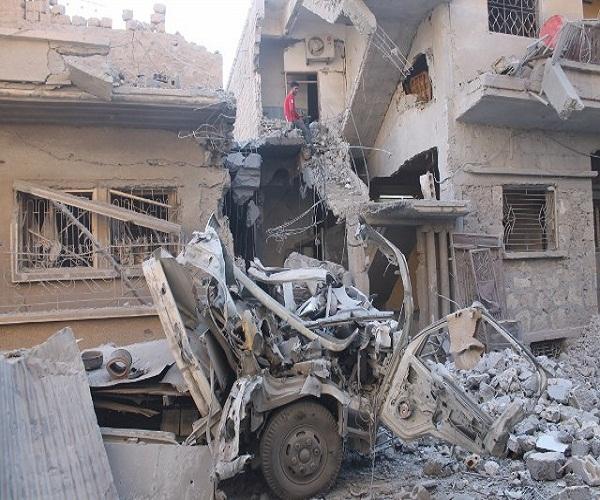 نشرة أخبار سوريا- خلال يومين.. طيران التحالف يرتكب مجزرتين في بلدة الطيبة بريف دير الزور، وقافلة جديدة من فصائل الجنوب تعلن انضمامها إلى