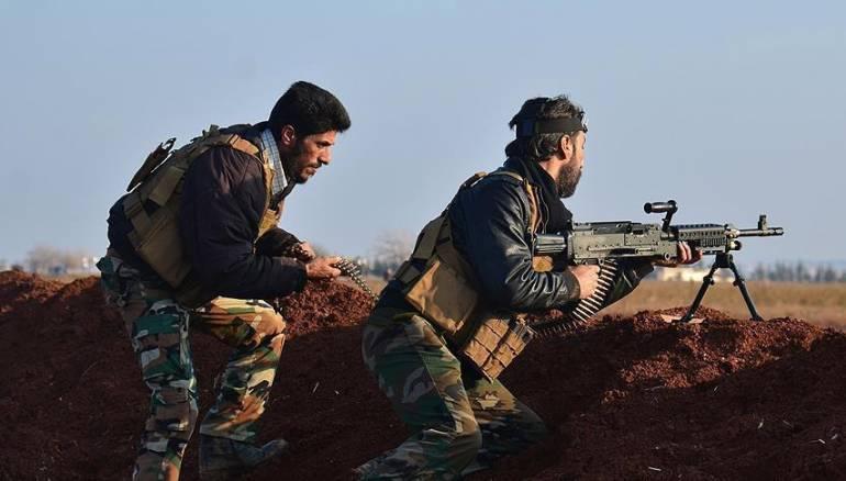 قصف مدفعي على غوطة دمشق الشرقية واشتباكات في محيطها
