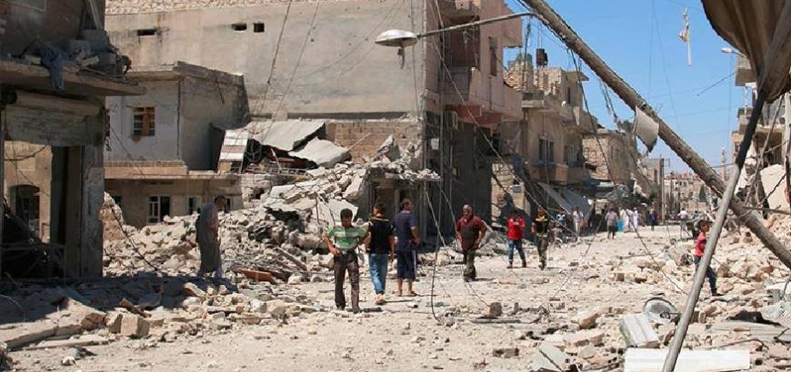 74 قتيلاً بقصف الطيران الروسي الأسدي يوم أمس الاثنين