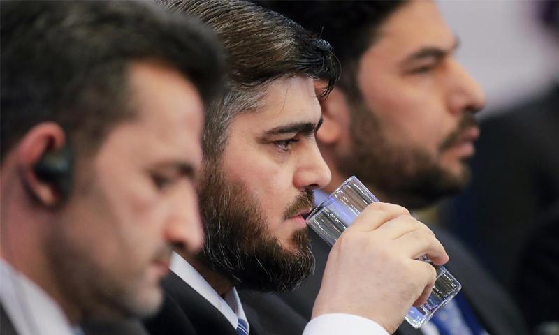 محمد علوش: لم نوقع على قتال فتح الشام في أستانة