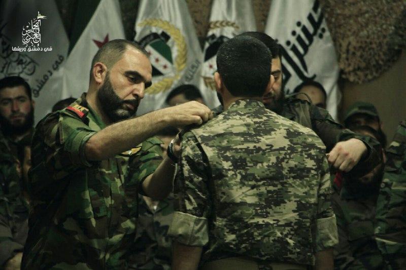 جيش الإسلام يعلن موافقته على الخطة التي اقترحها المجلس العسكري لإنقاذ الغوطة
