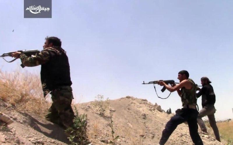 الثوار يحبطون محاولة تسلل على جبهة الأوتستراد بريف دمشق