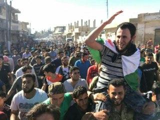 تحرير قيادي في فيلق الشام وعدد من المجاهدين في صفقة تبادل أسرى