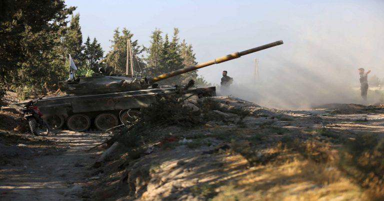 نظام الأسد يرفض إدخال ورشات لصيانة نبع الفيجة ويواصل قصفه العنيف على وادي بردى