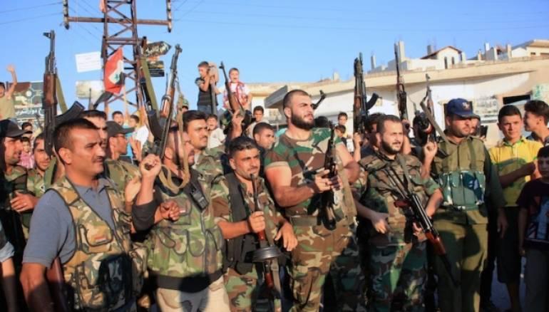 النظام يغير جلده في حماة ويستقدم مرتزقة جدداً لاستلام حواجز المدينة