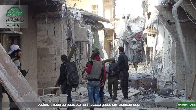 نشرة أخبار سوريا- الثوار يستنزفون قوات النظام في درعا وريف حماة الشمالي، ويصدون محاولة تقدم لها في أحياء العاصمة الشرقية-(26-4-2017)