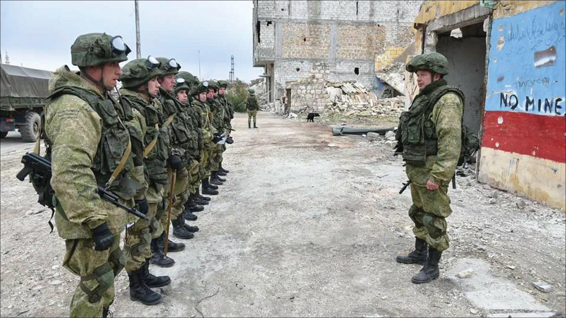 روسيا تعتزم إرسال مزيد من كتائب الشرطة العسكرية إلى سوريا لكن بشرط!