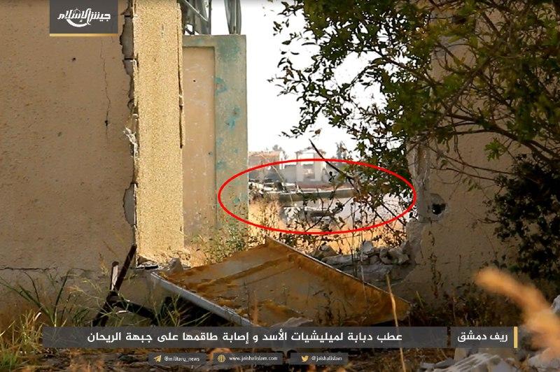 الثوار يصدون محاولة قوات النظام التقدم على جبهات الغوطة وأحياء دمشق الشرقية
