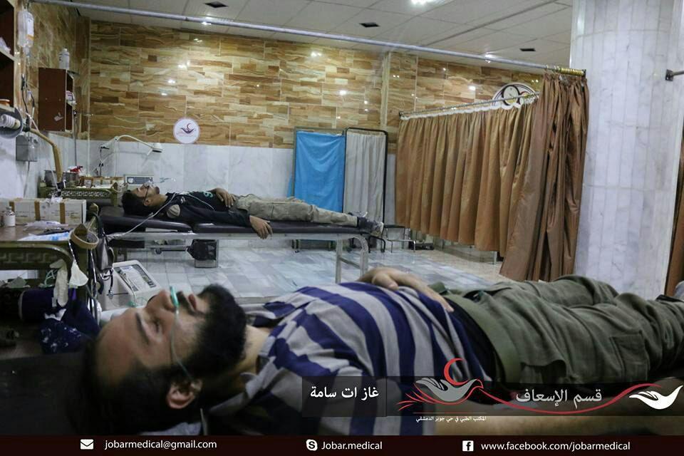قوات النظام تستهدف حي جوبر بـ