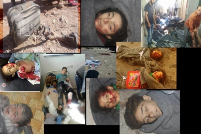 مجازر الأسد والروس ضد الأطفال مستمرة .. مجزرة حاس خير دليل