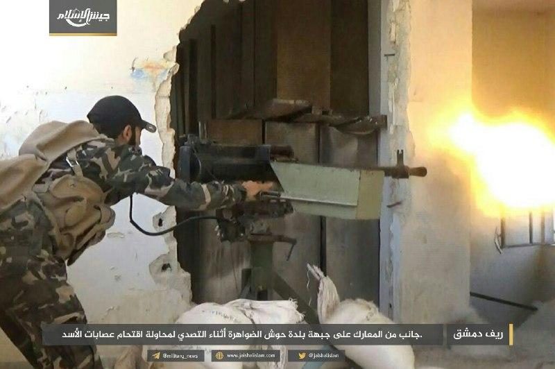 نشرة أخبار سوريا-الثوار يستعيدون مناطق خسروها في البادية السورية، ويكبدون قوات النظام خسائر فادحة في غوطة دمشق -(11-7-2017)