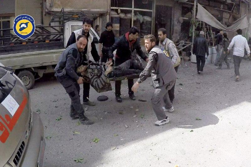 89 شهيداً -نحسبهم عند الله- حصيلة ضحايا يوم أمس الأحد في سوريا