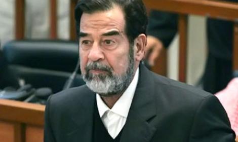 آخر رسائل صدام حسين