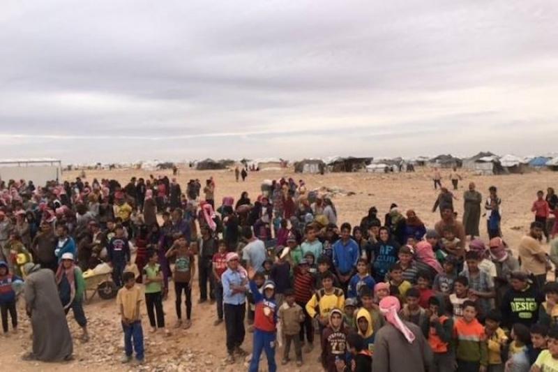 الأردن يسمح بدخول مساعدات إنسانية لمخيم الرقبان والعفو الدولية ترحب